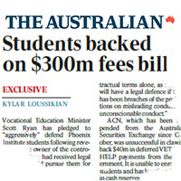 Clip – Students backed on $300m fees bill – The Australian